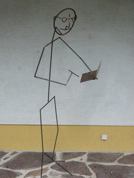 """2012 """"der Journalist"""", steht in Bregenz"""