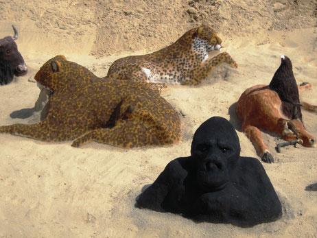 Art éphémère de la sculpture sur sable (I. Denis)