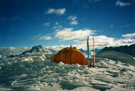 eplatzer, Stilfs, Stelvio, Südtirol, Wintercamping