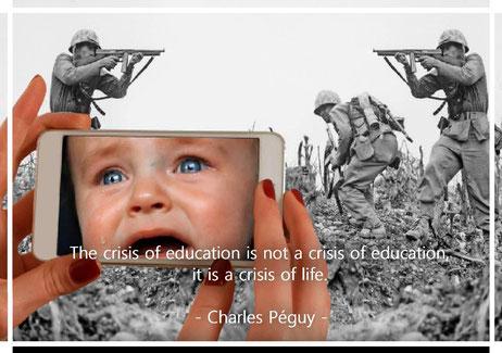 教育の危機は教育の危機ではなく、生命の危機なのだ。