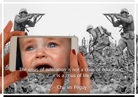 The crisis of education is not a crisis of education, it is a crisis of life. Charles