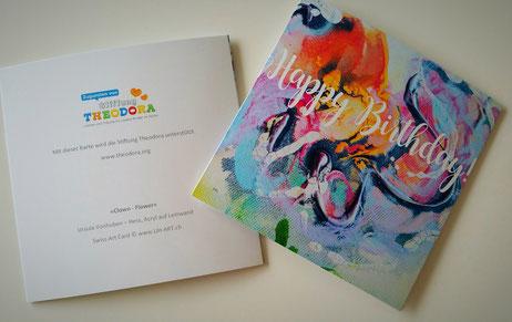 Geburtstagskarte für die Stiftung Theodora