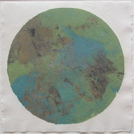 Pulp Painting von John Gerard, Terra Incognita (2012)