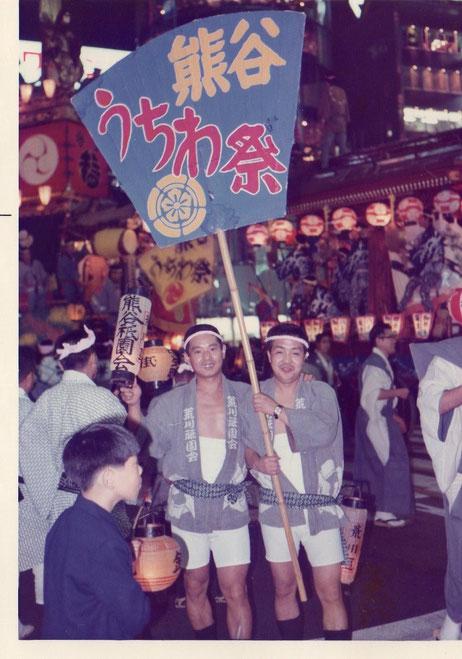 東京銀座祭りにて