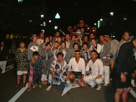 行田浮城祭りにて