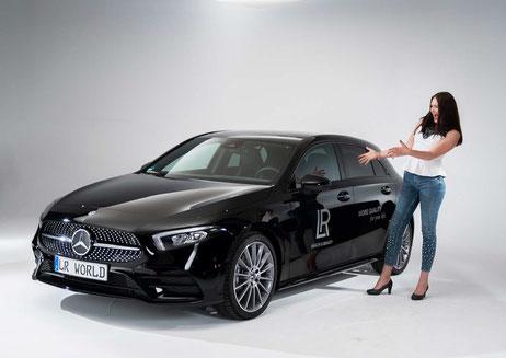 concept Mercedes unique, en tant que leader d'organisation,  la voiture est payée en intégralité par LR