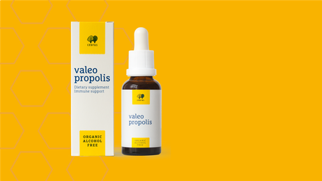 picture: organic Valeo Propolis from New Zealand