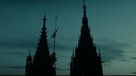 Kirche, Kirchturm, Turm, Nacht, Meißen