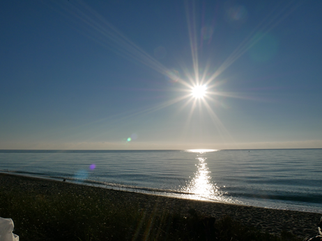コルシカ島の朝日