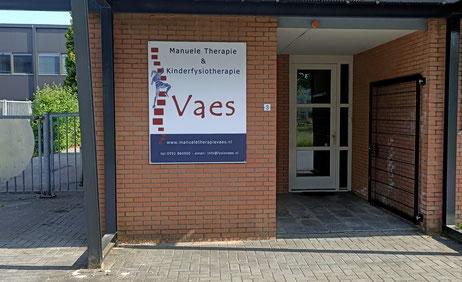 Fysiotherapie manuele therapie vaes