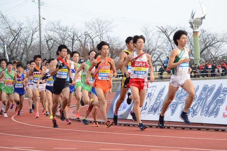 九州の学生ランナーたちが島原路を駆ける