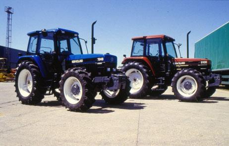 New Holland Ford 7840 und Fiat S100