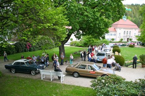 Oldtimer Reise in Marienbad mit BMW, DKW und Mercedes