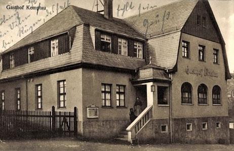 Der Gasthof um 1925