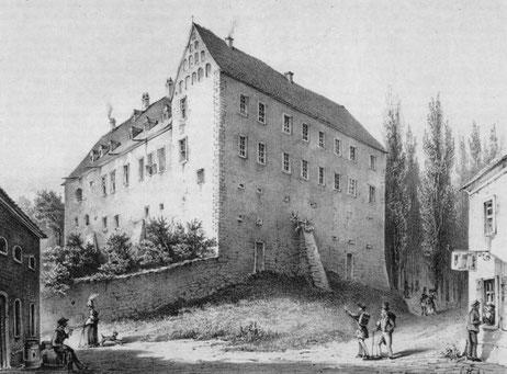 Schloss Frohburg um 1860 Quelle: (5)