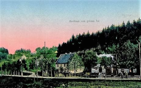 Sommeransicht um 1914