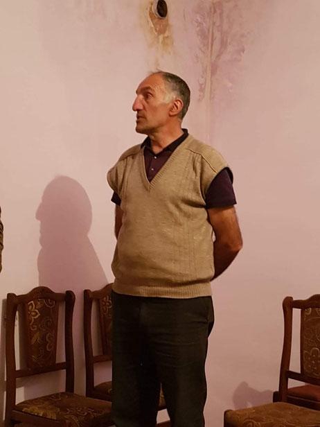 Le maire moloque du village de vieux croyants de Lermontovo, au nord de l'Arménie