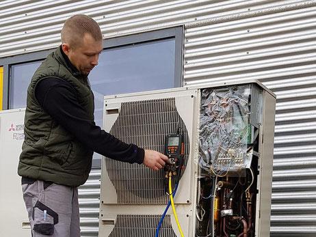 Installation, Service und Wartung