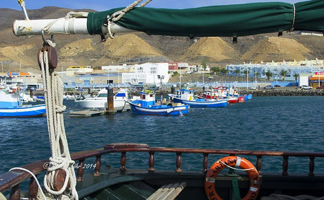 im Hafen von Morro Jable
