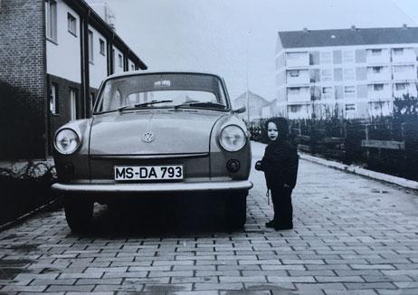 Markus Lewe 1969 in Coerde - Foto Familie Lewe