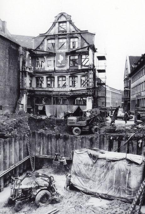 Gründungsarbeiten 1975