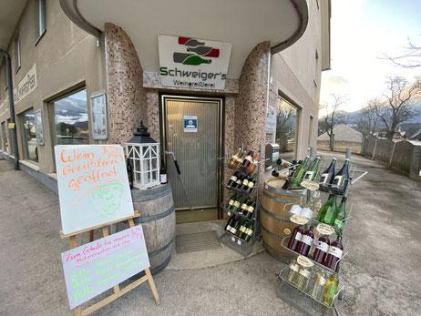 Schweigers Weingreislerei Weinverkauf und Weinverkostung