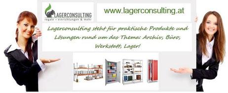 Sind Sie auf der Suche nach neuer Einrichtung für Ihre Firma? Regale, Planung, Montage, Service. www.lagerconsulting.at
