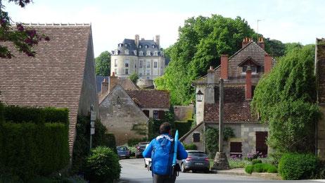 Apremont sur Allier, GR654, Compostelle
