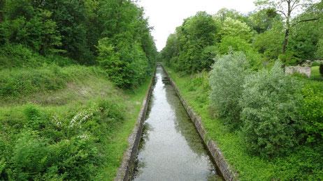Canal de Berry, GR654, Compostelle