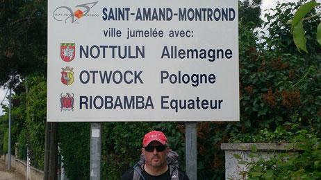 Saint Amand Montrond, GR654, Compostelle