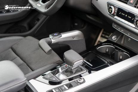 Veigel eClassic, Handgerät für Gas und Bremse, Sodermanns