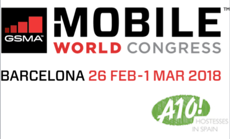 MWC, technology trade show at FIRA DE BARCELONA (SPAIN)