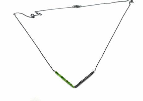 Ein Hauch von Bergluft Halskette zweifarbig
