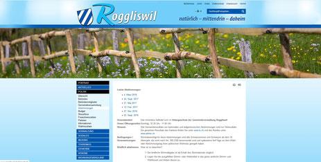 Gemeinde Roggliswil