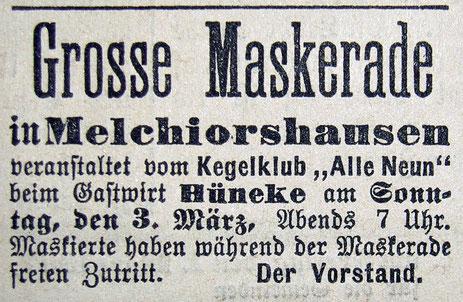 Syker Zeitung 28.02.1907