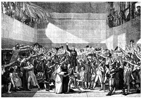 le Serment du Jeu de Paume, 1789