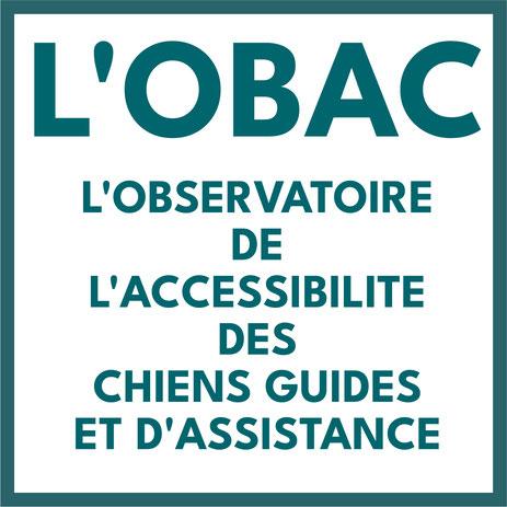 L'OBAC : l'observatoire del'accessibilité des chiens guides et d'assistance