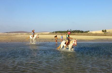 Horseback riding  in Prea Brasil