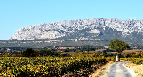 Mountain of Sainte Victoire (Provence)