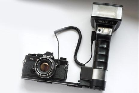 euer hochzeitsfotograf - mein equipment - olympus om-2 mit metz 45cl