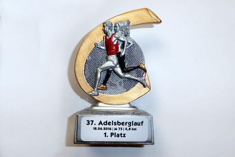 Siegerpokal von Bernd K. in der AKm75