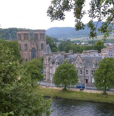 Inverness gilt als die Hauptstadt der Highlands