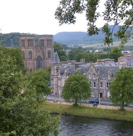 "Inverness is the so-called ""Capital of the Highlands"""