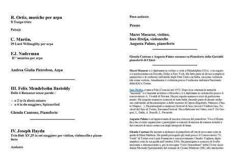 Concerto finale pagine 2 e 3