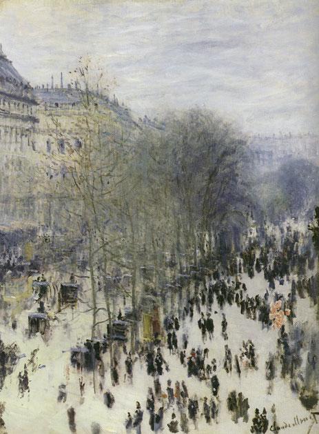 Клод Моне. Бульвар Капуцинок (1873)