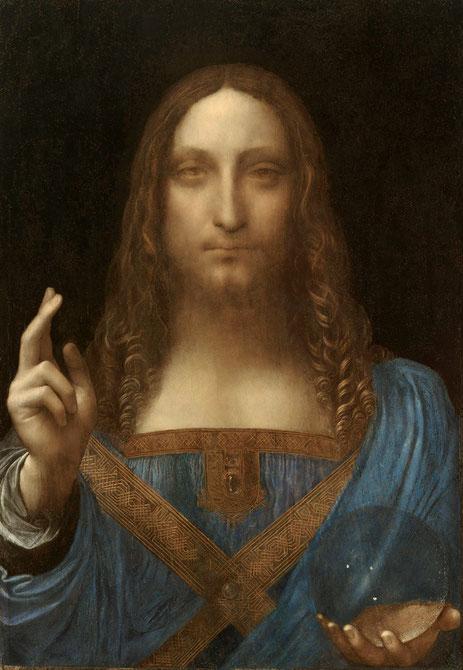 Спаситель мира - Леонардо да Винчи