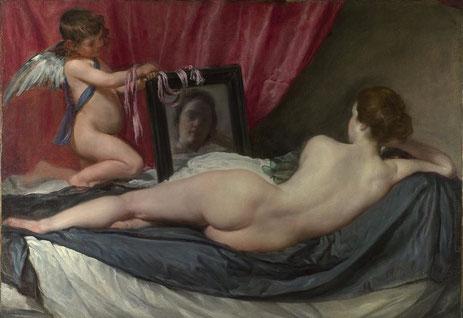 Венера с зеркалом - самые известные картины Диего Веласкеса