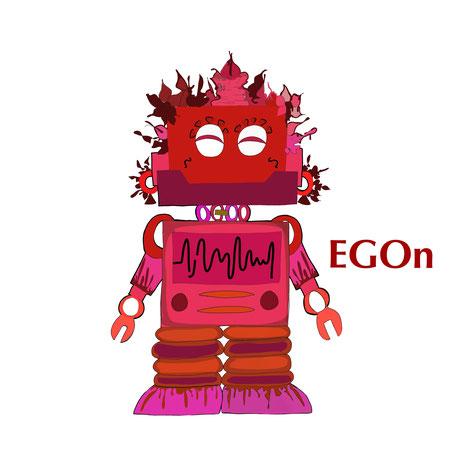 Hi, ich bin EGOn, Dein EGO! Meist will ich recht haben, doch dabei kriege ich oft eins auf die Mütze.
