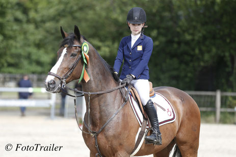 Lily Engelsman with Rusedski II. Photo FotoTrailer