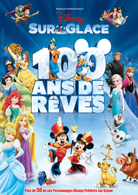 Disney sur glace un spectacle evenement 2016 pour toute la famille